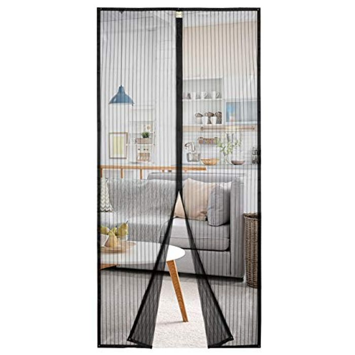 Homitt Magnetic Screen Door with Heavy Duty Mesh Curtain - Only £6.99!