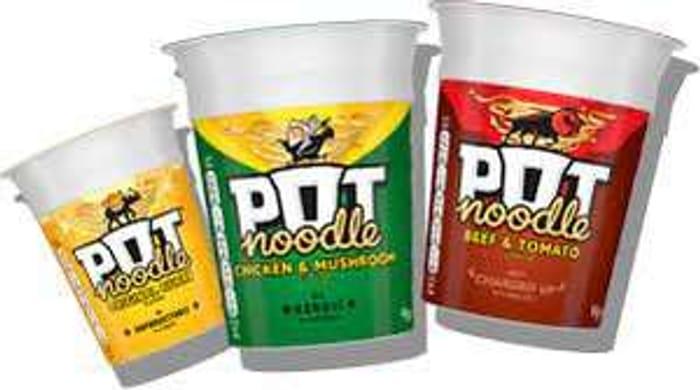 Pot Noodles (All Varieties) - 50p