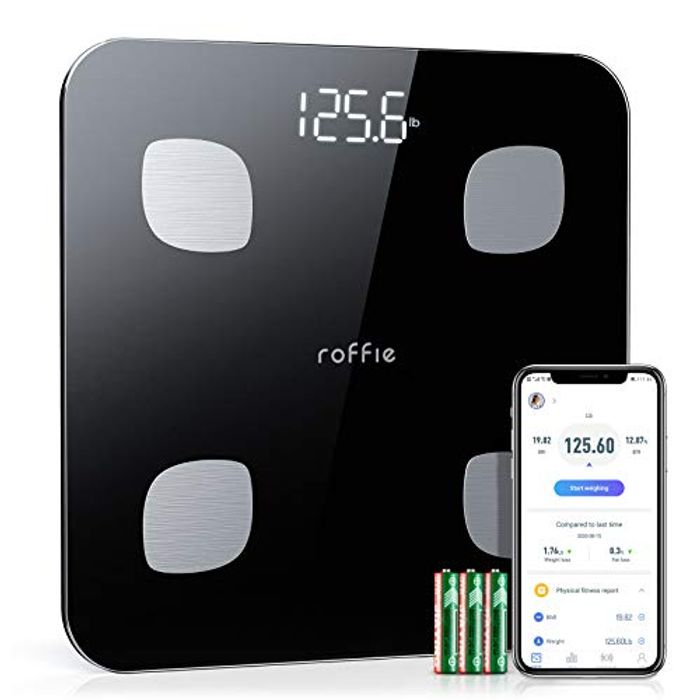 Digital Smart Bathroom Scales (Sync with Smartphone App)
