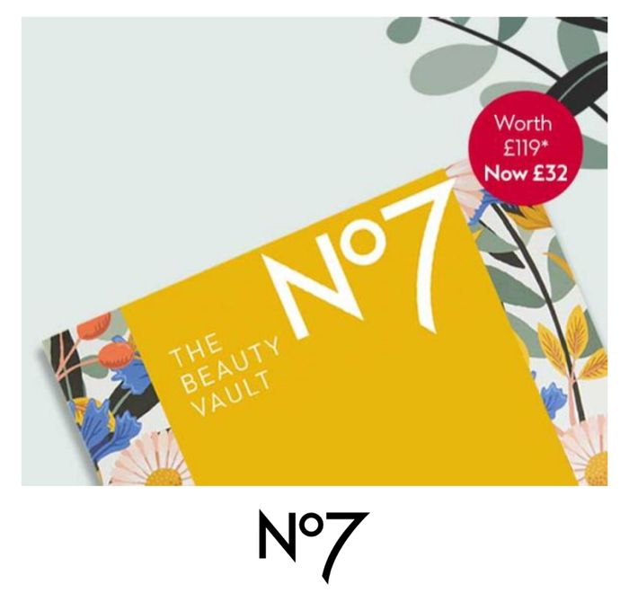 Join Waiting List for Pre-Sale Access to Limited Edition No7 Beauty Vault