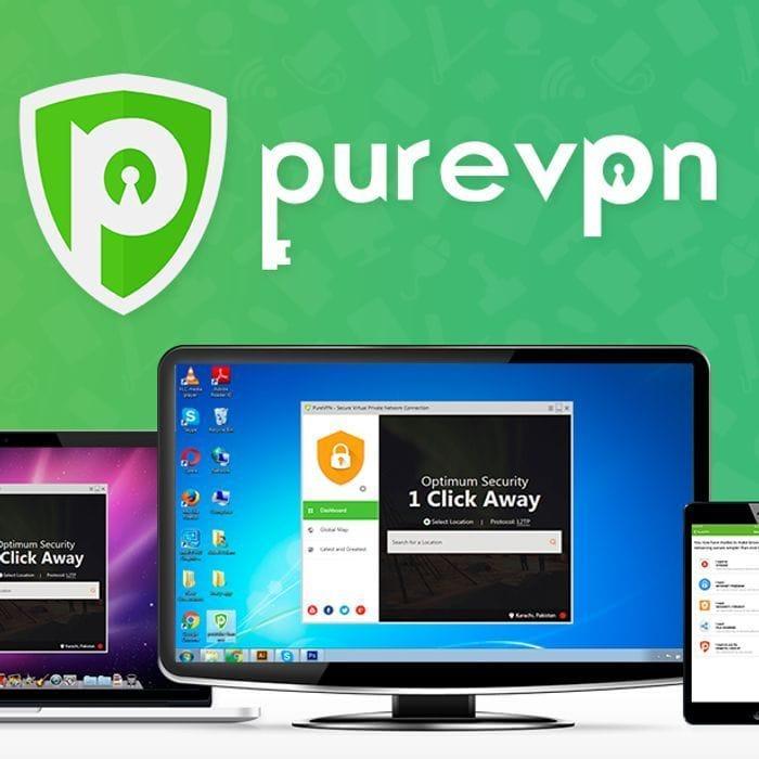 82% Off - Watch USA & Canada Netflix! PureVPN 1 Year Subscription- £1.42p/m