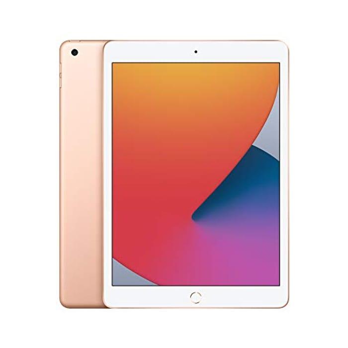 Apple iPad 2020 (10.2-Inch, Wi-Fi, 32GB) - Gold (8th Generation) -