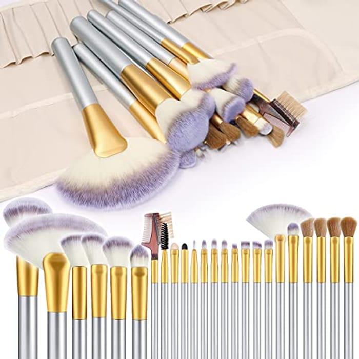 Makeup Brushes, VANDER 24pcs Makeup Brush Set - Only £4.99!