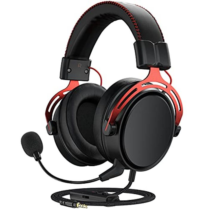 Deal Stack! Gaming Headset for PS5, PS4, PC, Xbox One