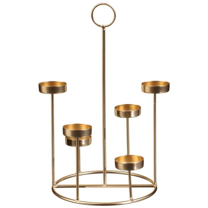 1/2 Price : Gold Tone Tealight Holder