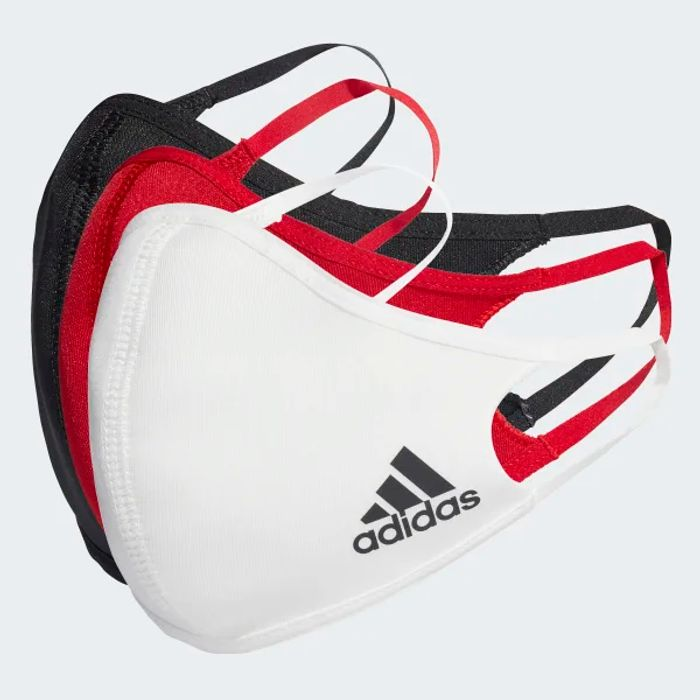 3 X adidas Face Mask's - £7.50 Delivered For Free Members