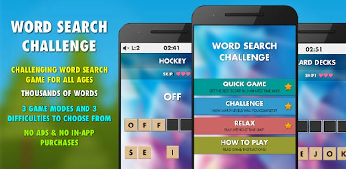 Word Search Challenge Pro - Usually £1.99
