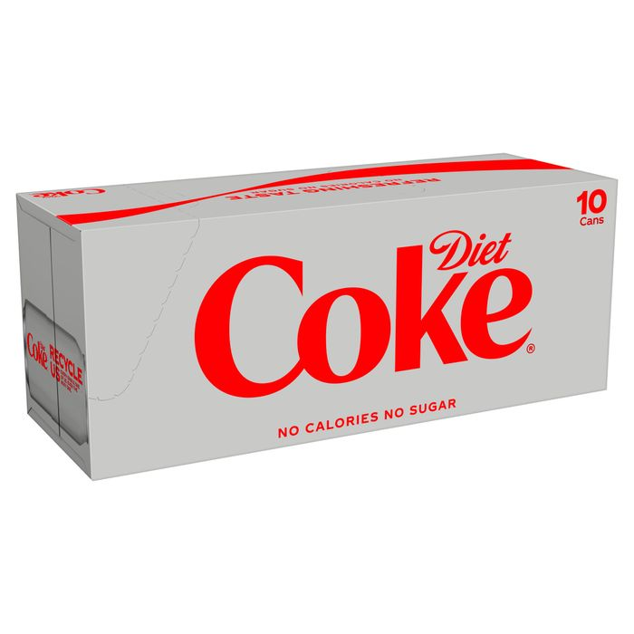 Diet Coke Fridgepack 10 X 330ml for £3 (Clubcard)