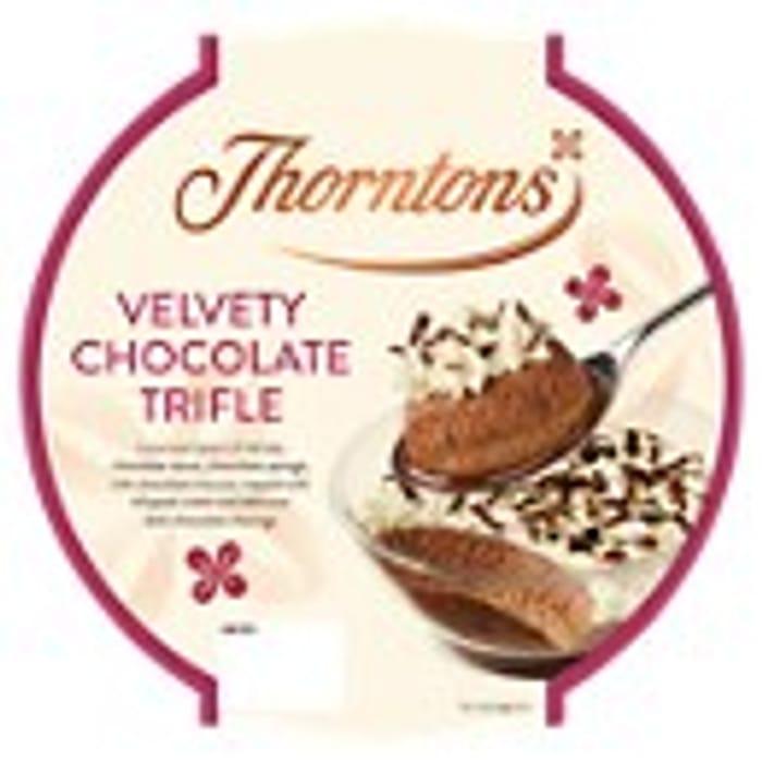 Thorntons Velvety Chocolate Trifle