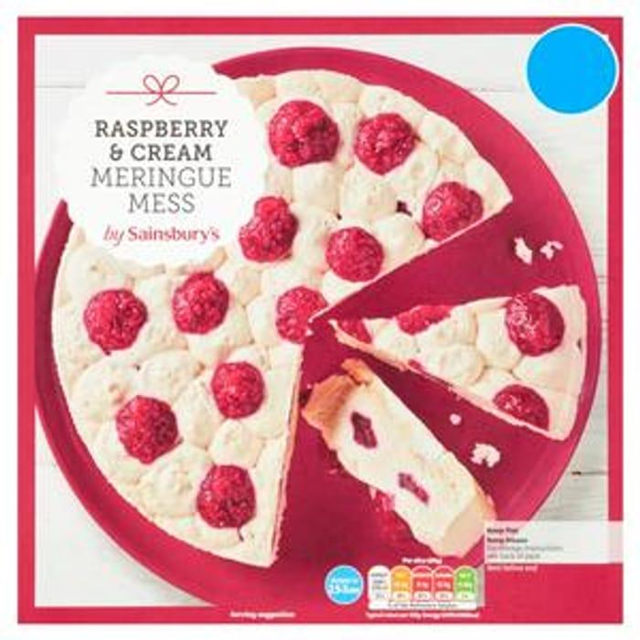Sainsbury's Raspberry & Cream Meringue Mess 800g