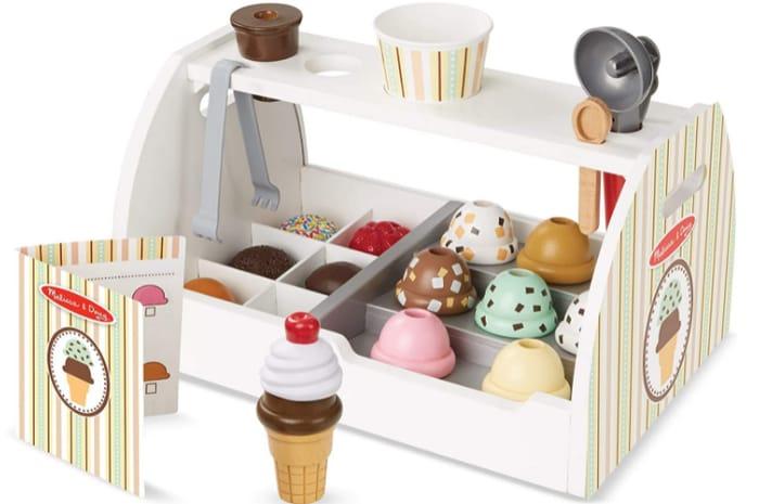Wooden Ice Cream Counter at Amazon