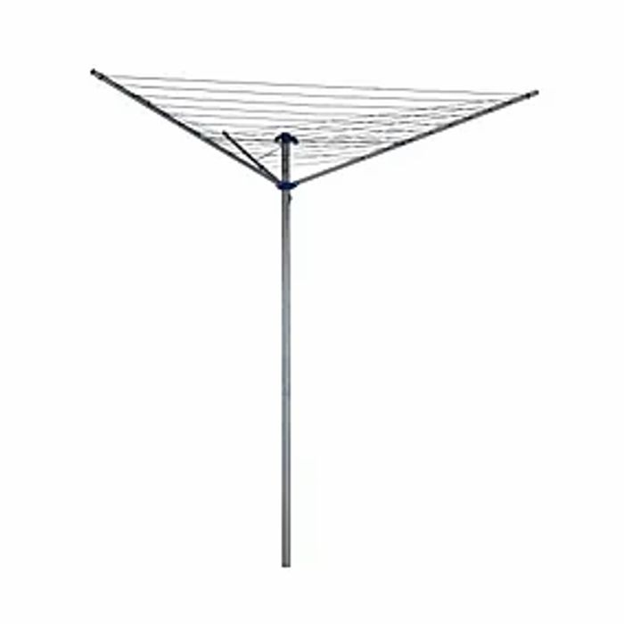 Dunelm Utility Room 30 Metre 3 Arm Rotary Washing Line Click & Collect