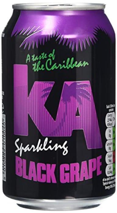 KA Fizzy Pop,grape or Pineapple ,24 Cans ,Amazon( £9.60/ £7.35)