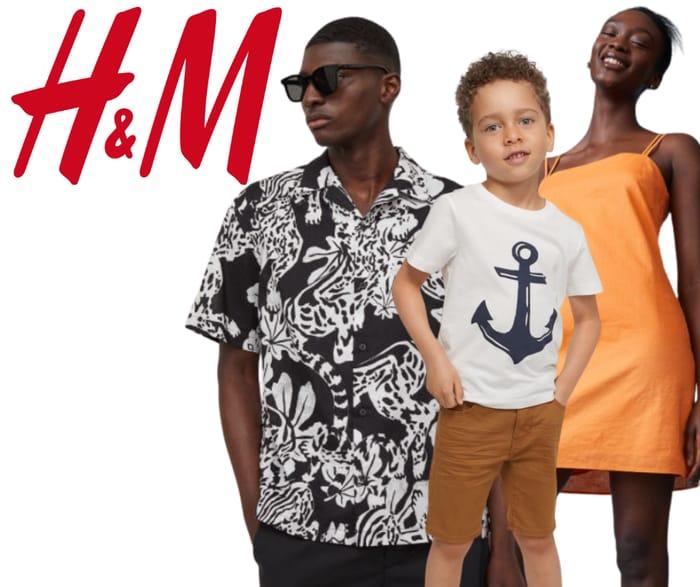 H&M Massive Summer Sale - Up To 50% Off Men's, Women's & Kids