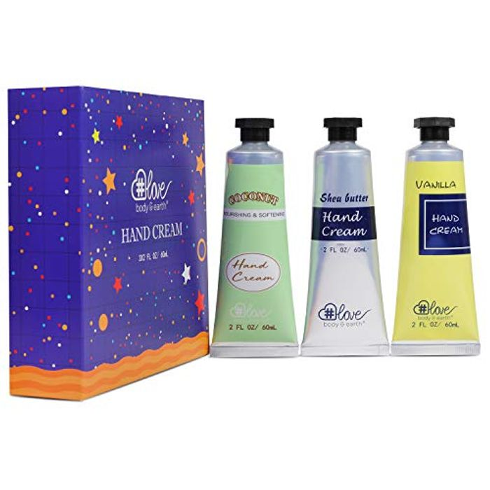 Hand Lotion Set-Body & Earth Love Moisturizing Hand Lotion - Only £2.80!
