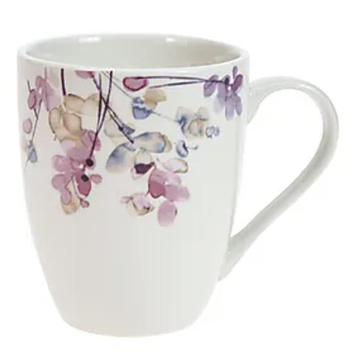 Honesty Pastel Floral Mug