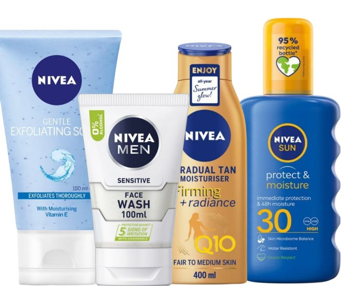 Exclusive Offer! Nivea Up To 50% Off + Extra 10% Code & Free Delivery