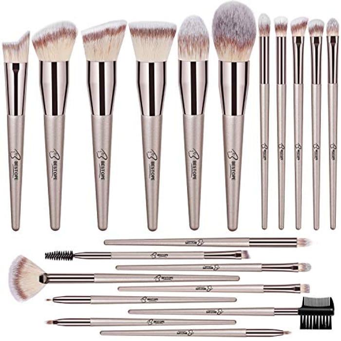 20PCs Makeup Brushes Premium Synthetic