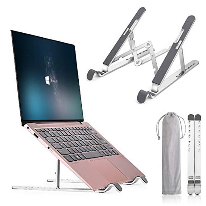 Awardroom Foldable Portable Desktop Laptop Holder - Only £5.60!