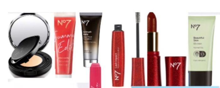 3 For2 on Selected No7 Clearance Products BB Cream,Mascara, Foundation,Etc
