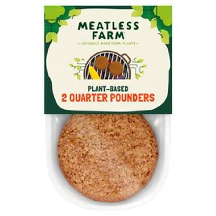 Meatless Farm Plant-Based Burgers 227g