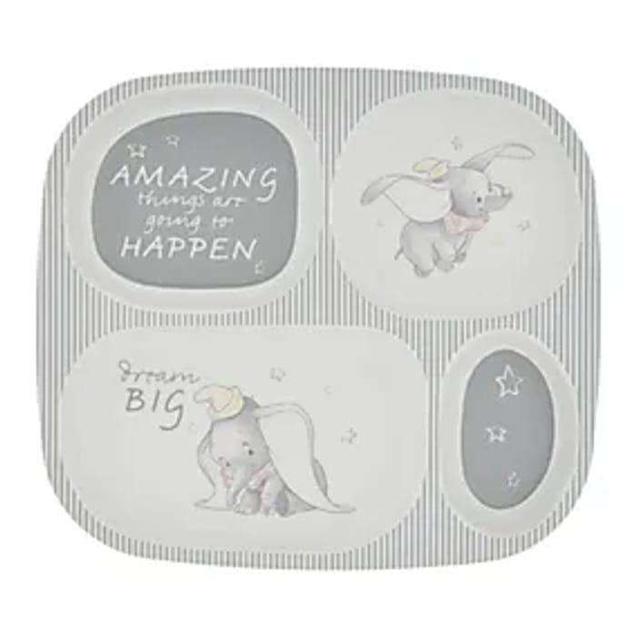 Kids Dumbo Divider Plate