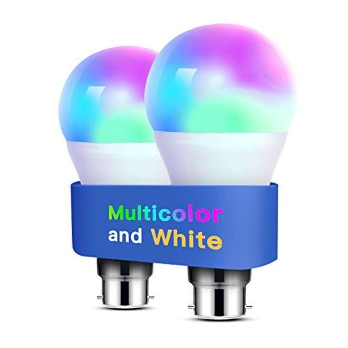 Alexa Light Bulbs WiFi Smart Bulbs B22 Bayonet