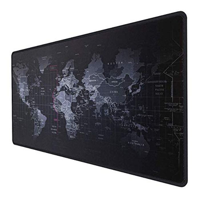 INPHIC XXL World Map Gaming Mouse Pad 900x400x3mm