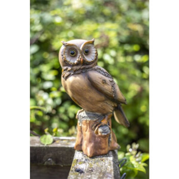 Resin Wood Owl
