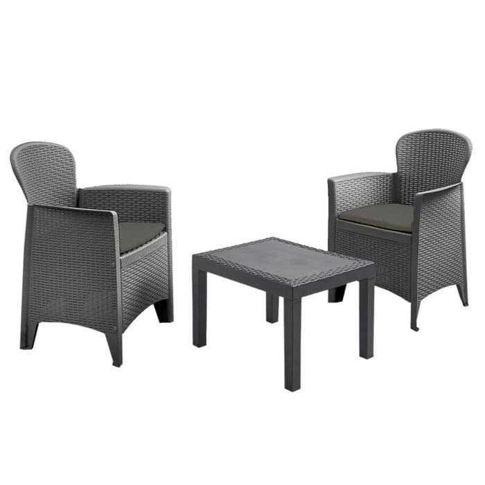 Best Price! 3 Piece Outdoor Garden Furniture Set