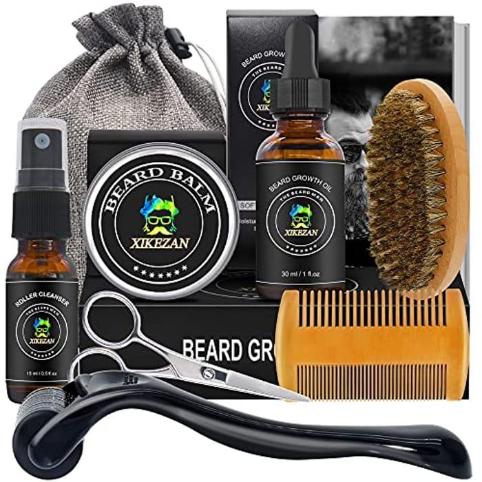 Beard Care Grooming Kit for Beard & Hair Growth