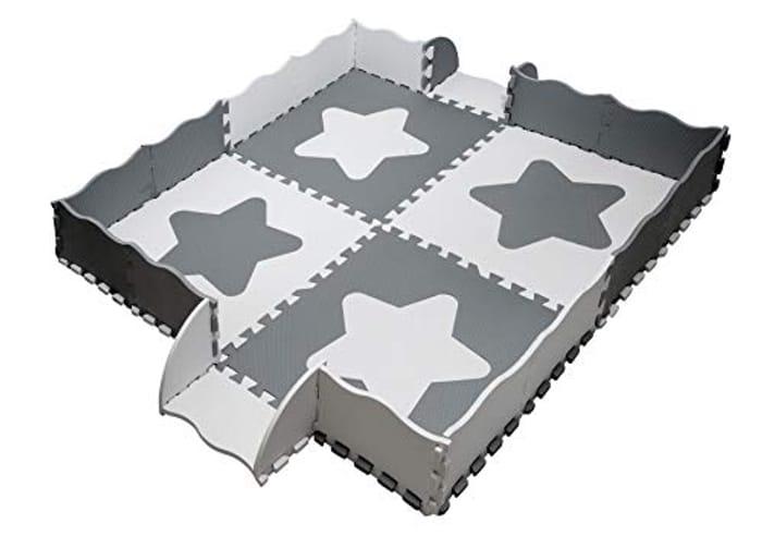 Edukit Foam Play MatLarge Stars with Borders