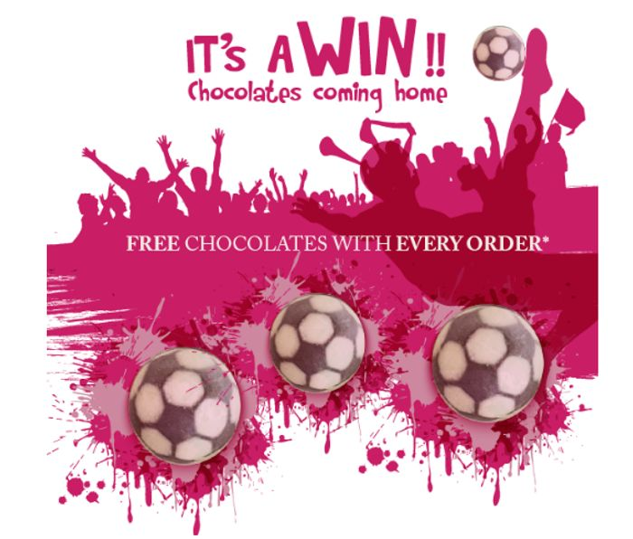 We Did It! It's A Win! Free Chocolate With Every Order!