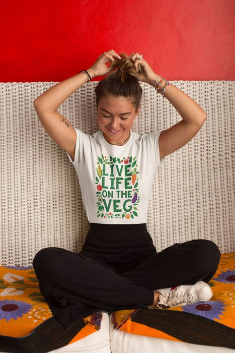 Free P&P On All Vegetarian Society Clothing This Weekend