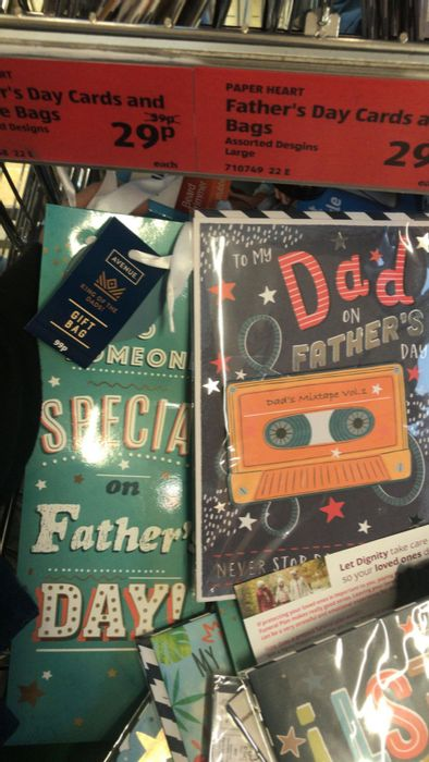 *Reduced to Clear* Fathers Day Stuff - Cards , Bottles , Badges Etc