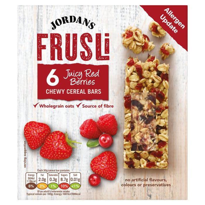 Jordans Frusli Wild Berry 6X30g £1.00 Clubcard Price