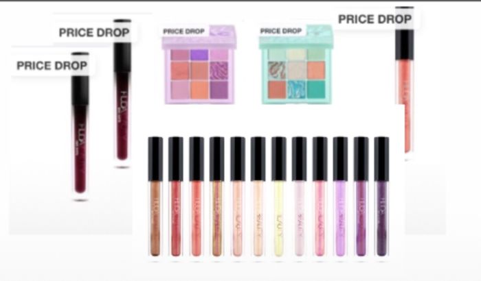 Price Drop: Huda Beauty,Lip Strobe Lip Gloss,Eye shadow More