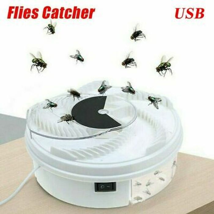 Super Revolving Automatic Fly Catcher Delivered