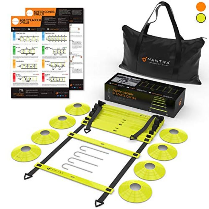 Save 26% on Agility Speed Ladder & Cones Football Training Equipment