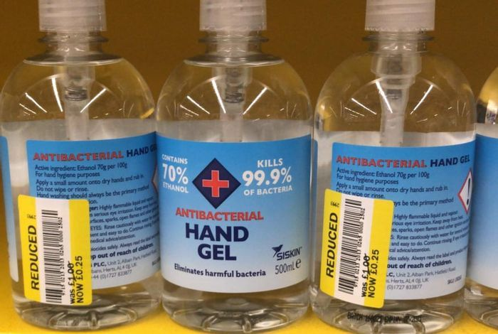 Reduced to Clear - Antibacterial Hand Gel