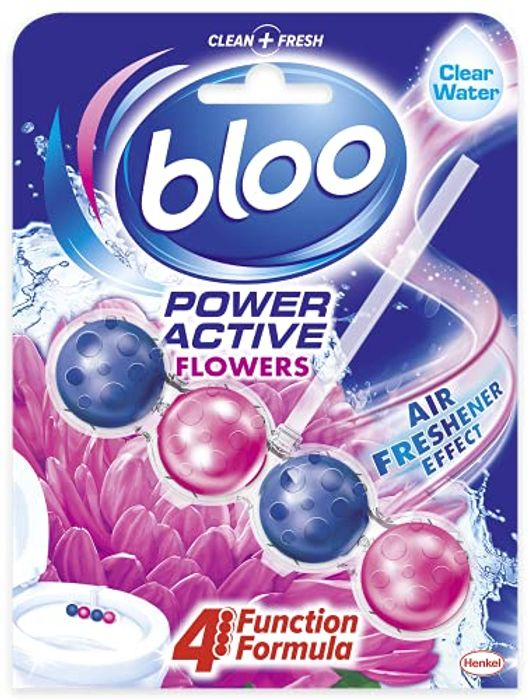 Bloo Power Active Toilet Rim Block Fresh Flowers 1x 50g