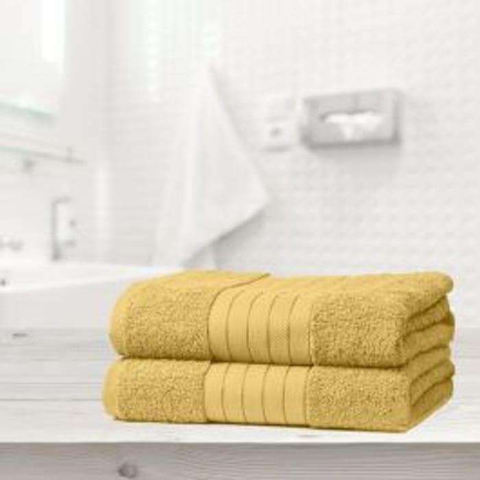 Brentfords 2 Jumbo Bath Sheets