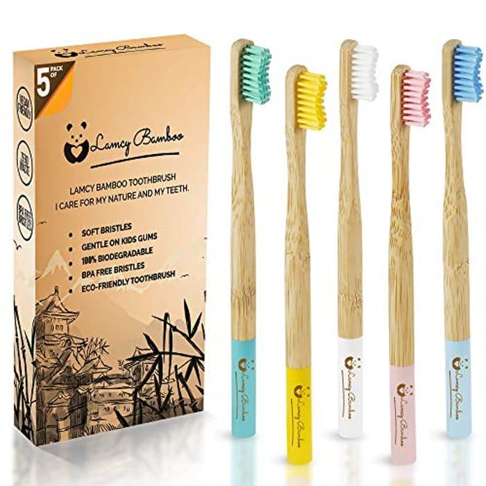 Bamboo Vegan Toothbrushes