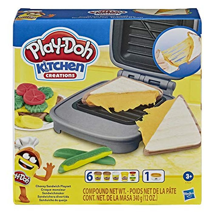 Best Price! Play-Doh Kitchen Creations Cheesy Sandwich Play Food Set