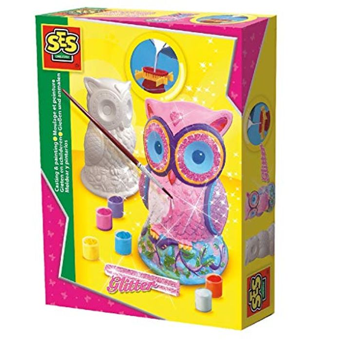 Casting and Painting Owl Figure