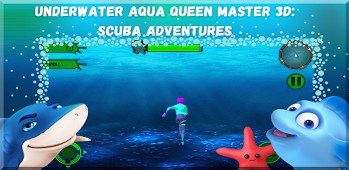 Underwater Aqua Queen Master 3D: Scuba Adventures - Usually £5.99