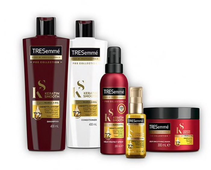 TRESemme Pro Collection Keratin Smooth Shampoo Conditioner,spray,Mask,Oil £2only