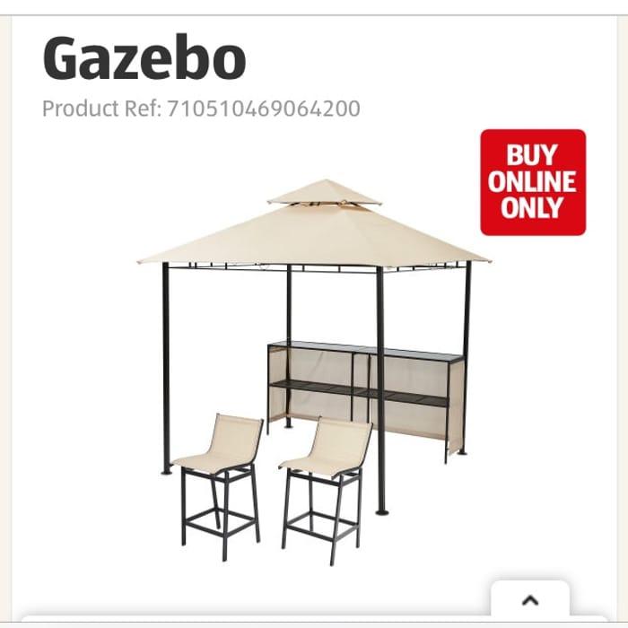 Pre Order Today Gardenline Bar Gazebo