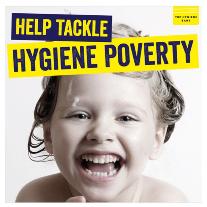 Buy any 2 of these products. We donate 1 more to The Hygiene Bank