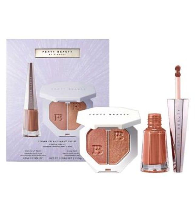 Fenty Beauty Stunna Lips & Killawatt Cheeks 2-Piece Lip,Face Set Worth £48